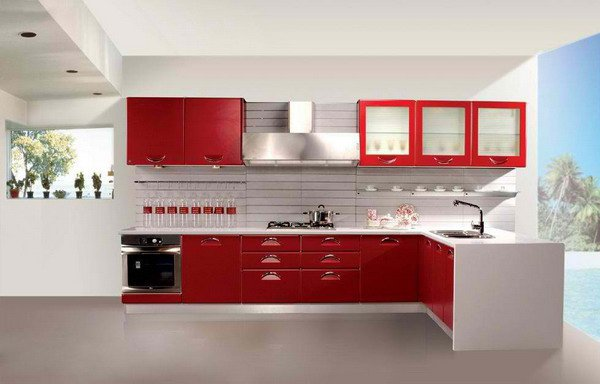 Lựa chọn kính màu cường lực ốp bếp phù hợp với phong thủy