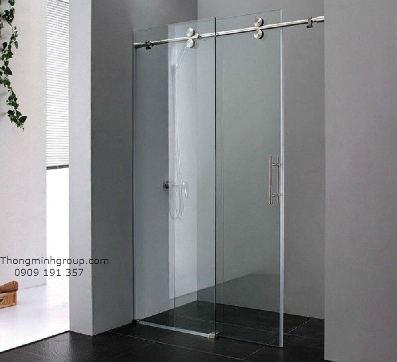 Giới thiệu mẫu phòng tắm kính lùa