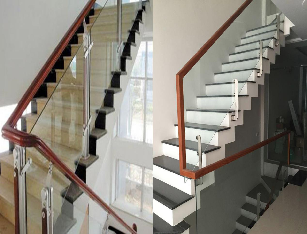 Có nên làm cầu thang lắp kính cường lực cho nhà ở hay không