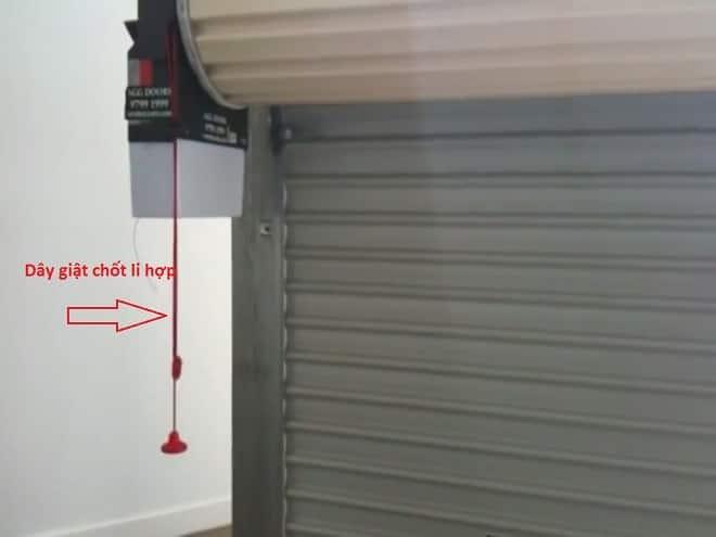 Đóng - mở cửa cuốn khi mất điện như thế nào?