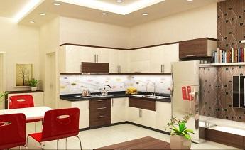 Khôn khéo mẹo lựa chọn kính cường lực cực đẹp cho gian bếp nhà bạn