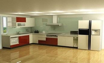 Kính màu ốp bếp tphcm và cách bảo quản khi sử dụng