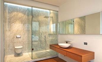 Sự tiện lợi của cửa phòng tắm kính hai chiều