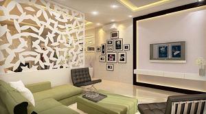 Vách ngăn kính cường lực nghệ thuật sản phẩm trang trí nội thất độc đáo