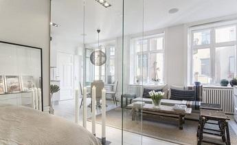 Vách ngăn kính phòng ngủ - Bí quyết của một không gian ngủ nghệ thuật