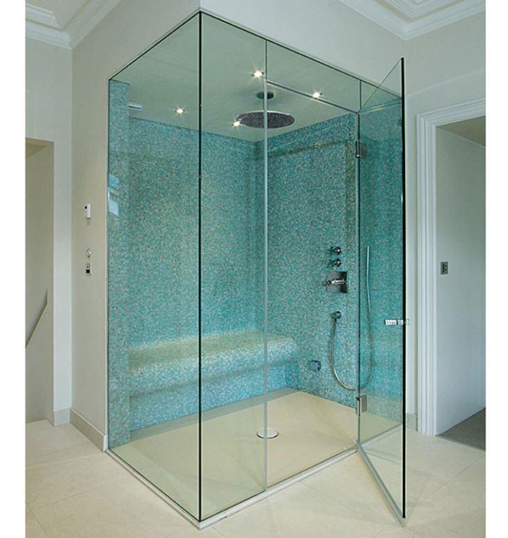 Vách tắm kính cường lực – Xu thế mới của nhà ở hiện đại